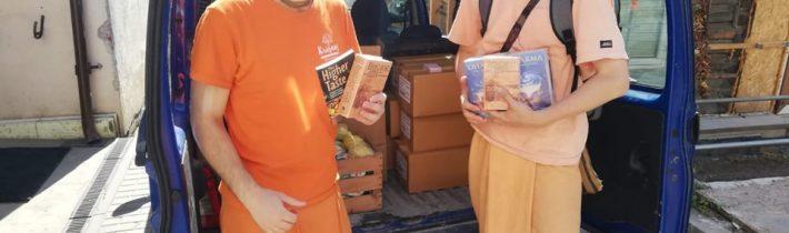 Susitikimas su bhakti jogos vienuoliais